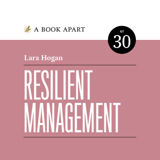 Resilient Management | A book for new managers in tech